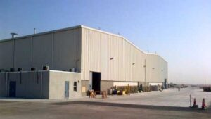 Capannone industriale Tenaris Arabia