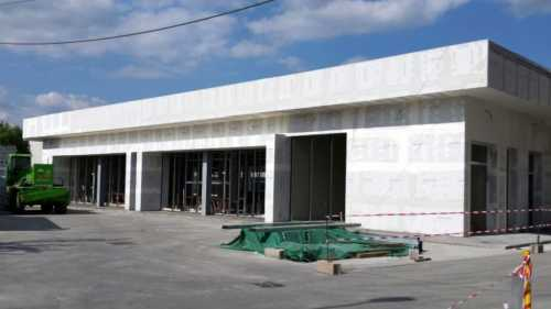 Capannone industriale Tenaris Romania Campina