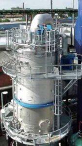 Impianto WESP precipitatore umidità elettrostatico India