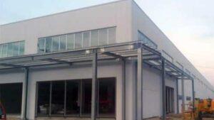 Strutture a completamento di complesso industriale Plovdiv Bulgaria