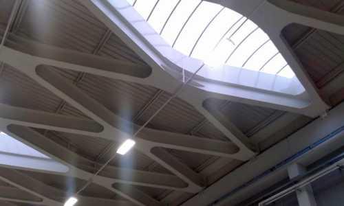 Strutture capannone industriale Montecchio RE