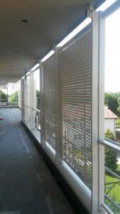 Rivestimenti facciata e balcone residenziale Treviglio