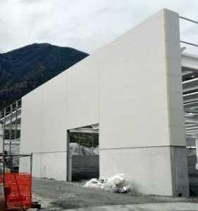 Pannellature sottostrutture capannone Merano BZ
